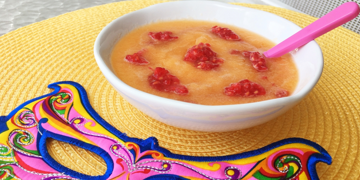 Sopinha fresca de melão