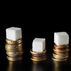 Com açúcar é mais caro