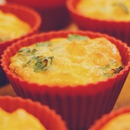 Cupcake de mandioquinha